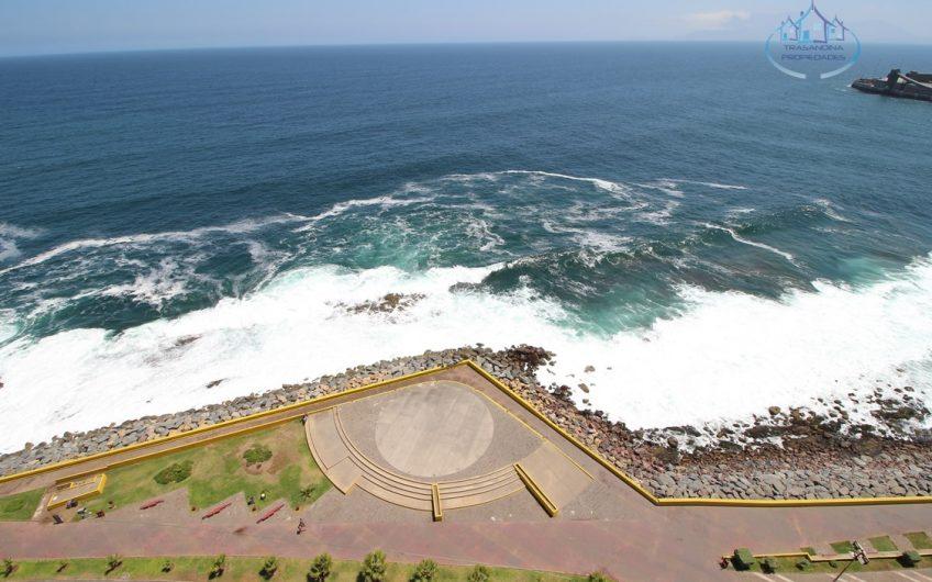 DEPARTAMENTO Amoblado 3D 2B 1E Hermosa Vista al Mar en 1° línea